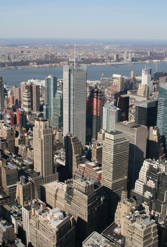 Ausblick vom Empire State Building (86th Floor) XIII