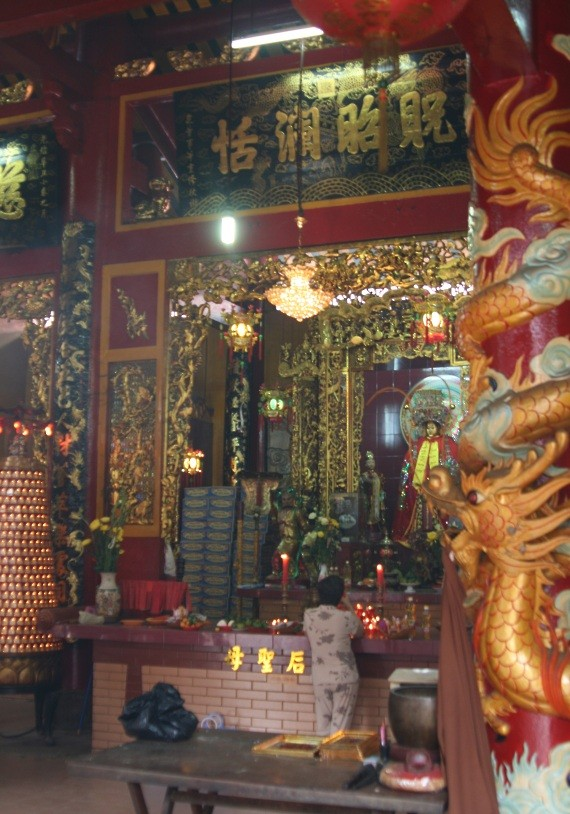 Ho Chi Minh City / Saigon: Tempel-/Pagoden-Tour in Cholon XI