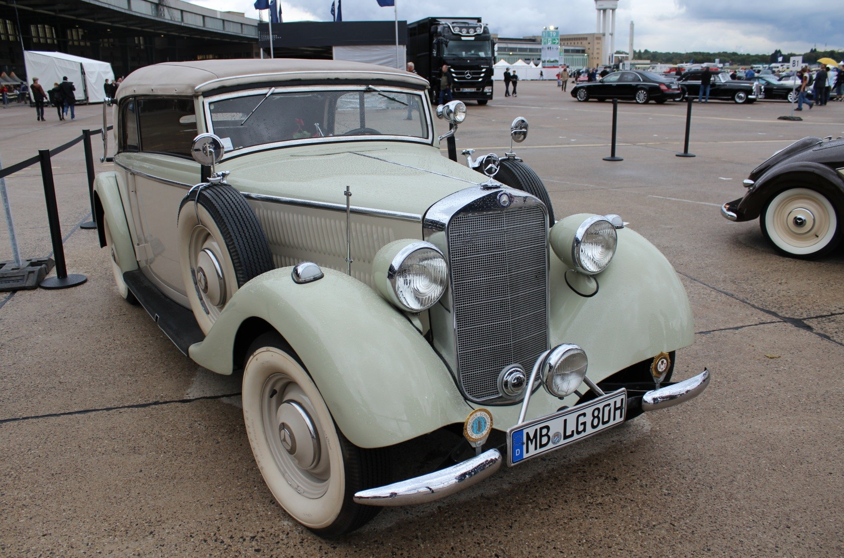 Mercedes-Benz & Friends - 125 Jahre Automobil in Tempelhof XXXVI