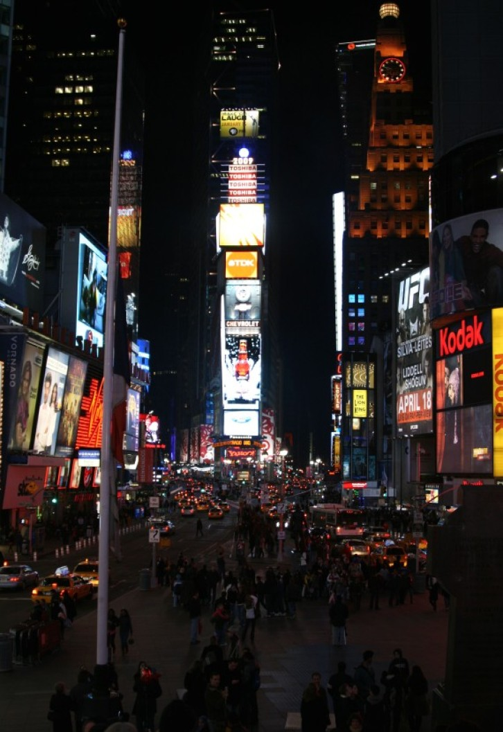 Times Square / Broadway in der Nacht III