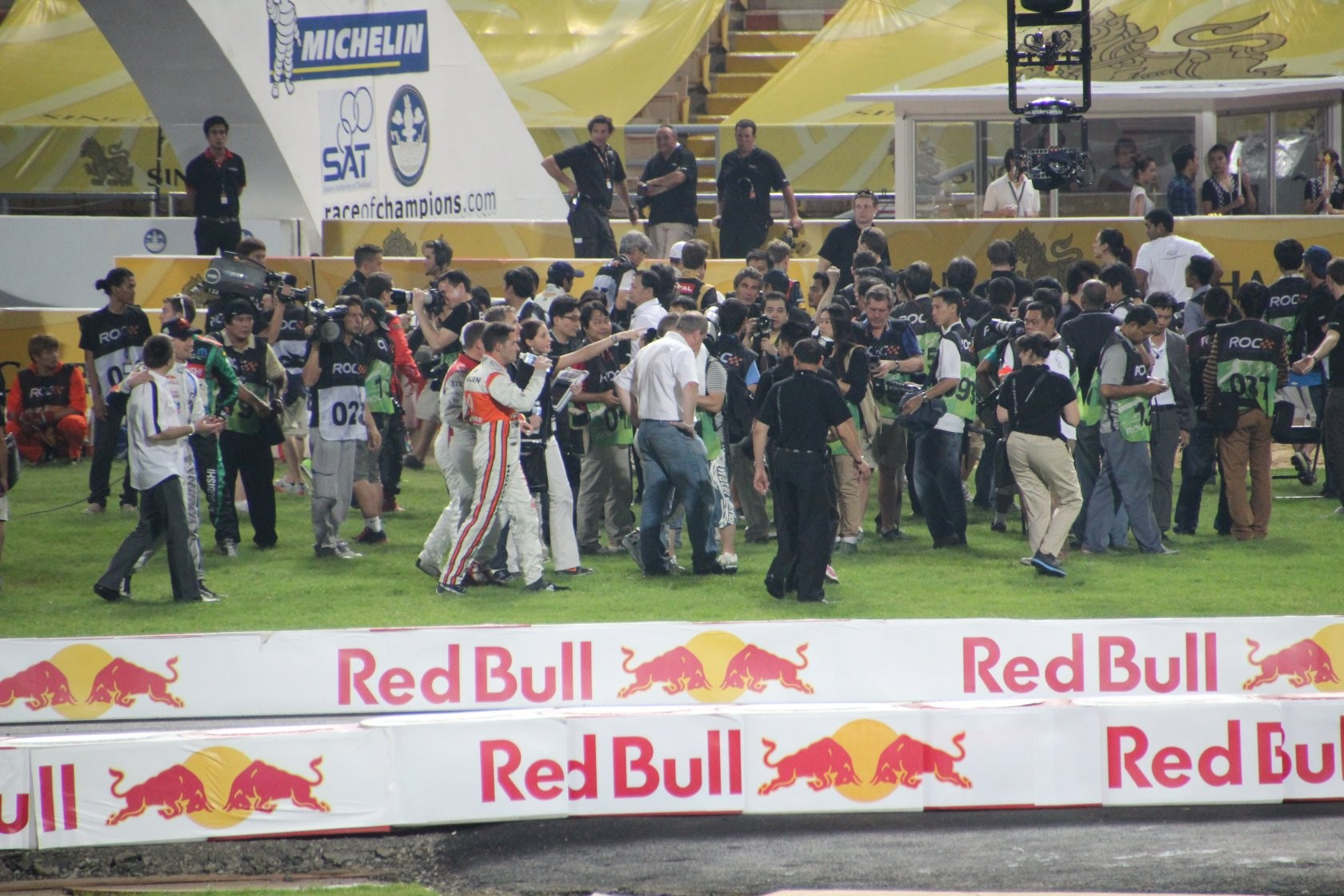 Bangkok - Race of Champions im Rajamangala-Stadion (ROC Nations Cup) XXV