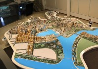 Urban Redevelopment Authority mit Stadtmodellen I