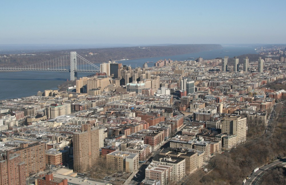 Heli-Flug in NYC: Washington Heights I