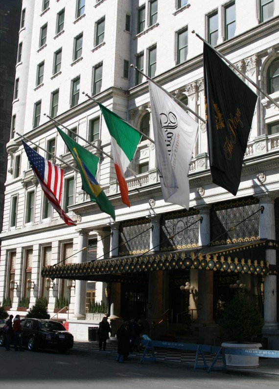 Plaza Hotel am Central Park