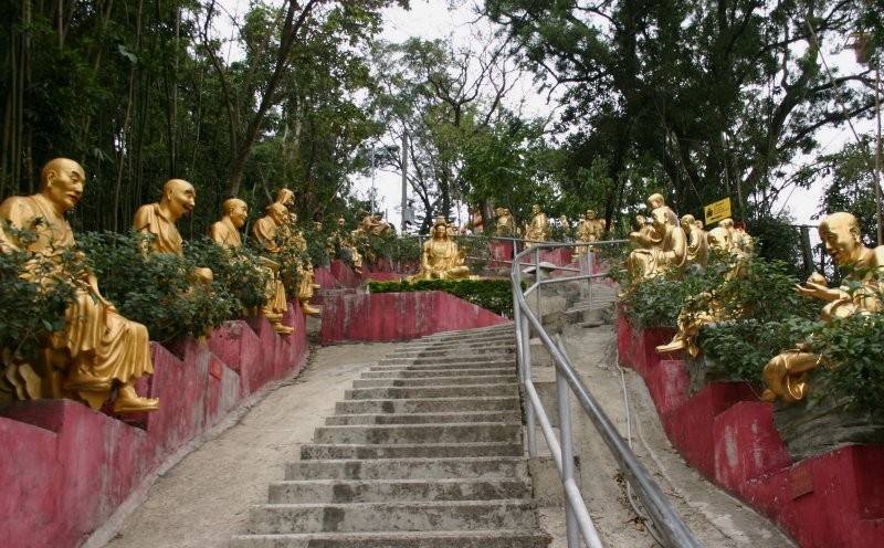 Monastery of Ten Thousand Buddhas III
