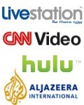 Live-TV per Internet in den USA